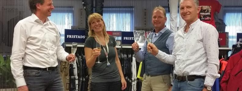 Fristad Kansas tekent nieuwe sponsorovereenkomst