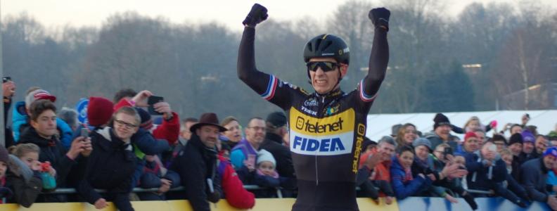 Lars van der Haar geeft teken van leven in Hoogerheide